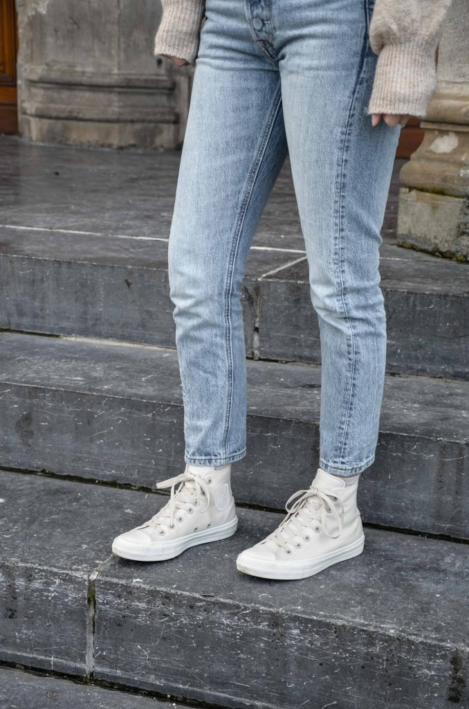 Jean Levis & Converse | Nina's clothing | Blog mode